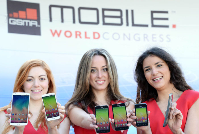 MWC 2018 - Neuheiten - neue Smartphones - Elektronikmesse - Foto: Wikipedia/LG전자