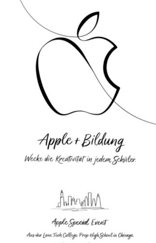 Günstiges iPad - iPad vorgestellt - neues iPad - iPad für Schüler. Foto: Screenshot Apple