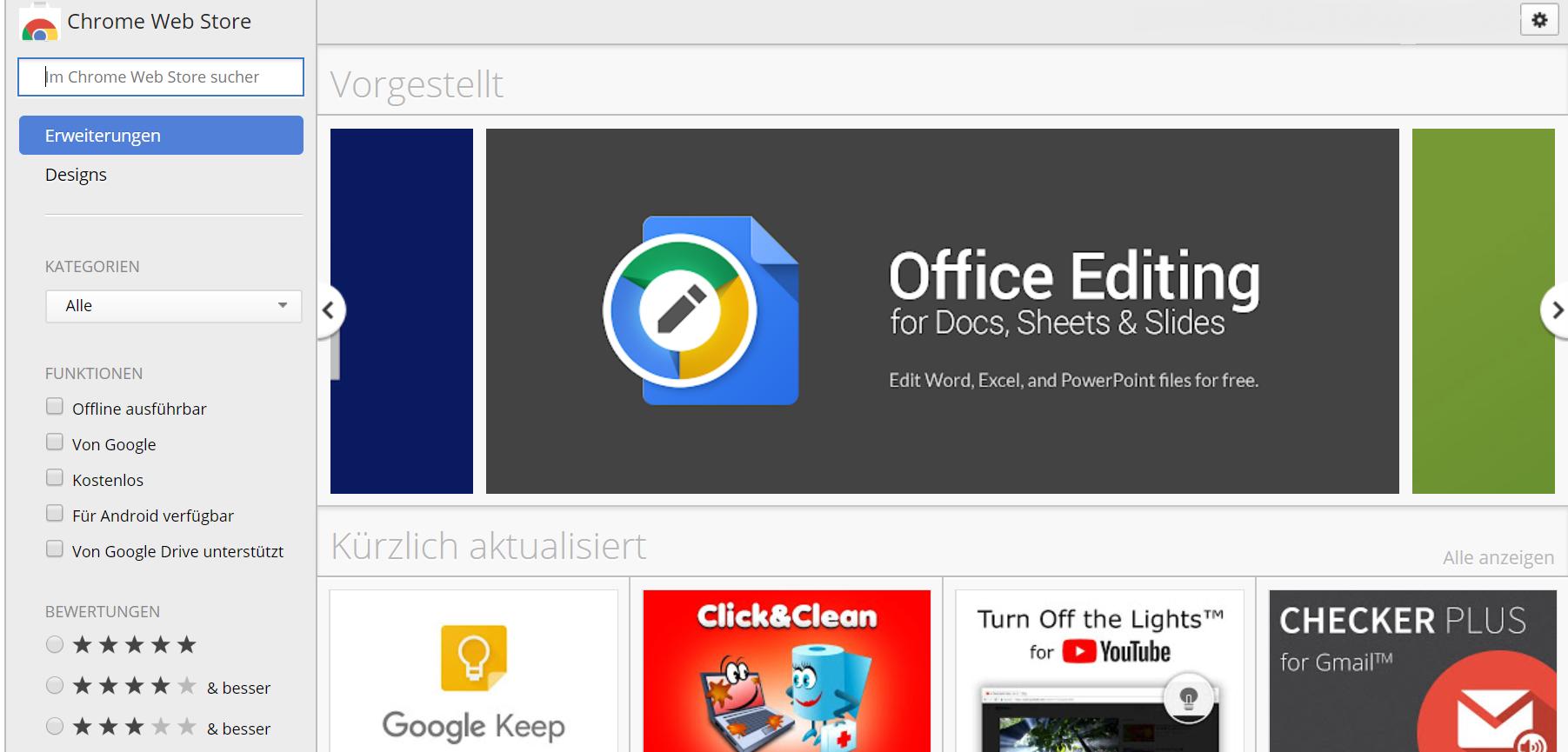 Google-Chrome-Extensions – Mehr Sicherheit für Chrome