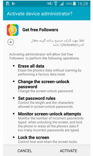 HeroRat - Android-Malware - Schadsoftware - Remote Administration Tool - Telegram Bot
