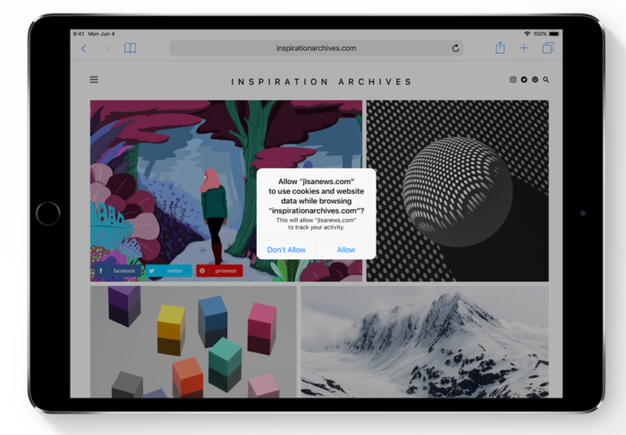 wwdc 2018 - ios 12 - macos 10.14 - apple event (Bild: Screenshot/Apple)