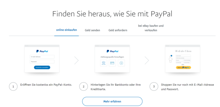 PayPal-Betrug - PayPal-Nachricht - PayPal -Rechnung - PayPal-Mahnung. Foto: Pixabay