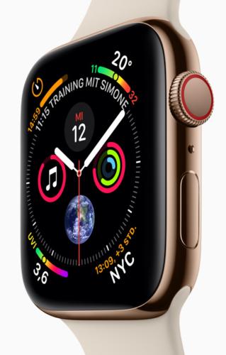 Apple-Event 2018 - neue Apple Watch - Apple Keynote - Apple Neuheiten. Foto: Screenshot