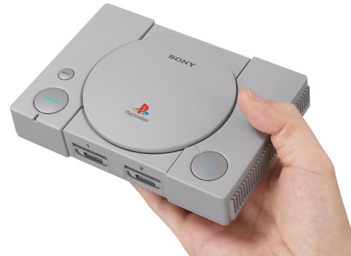 Retro Konsole - Retroversion - PlayStation Classic - Sony PlayStation - PS1 Mini. Foto: Screenshot Sony