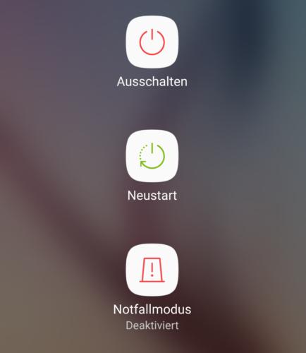 Samsung Notfallmodus - Notfallmodus - Notruf