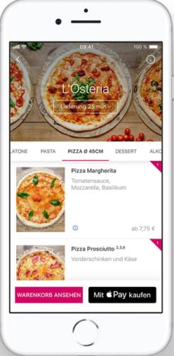 Apple Pay - Apple - iPhone - mit iPhone bezahlen. Foto: Screenshot Apple