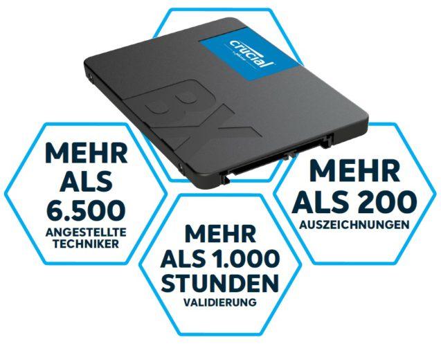 SSD - Crucial - Crucial SSD. Foto: Crucial