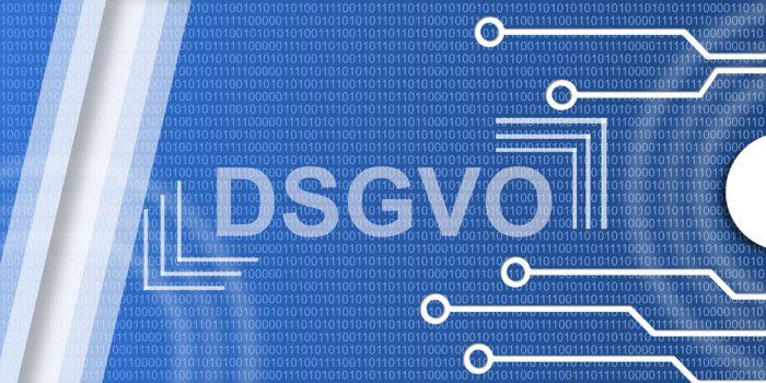 Das Bild zeigt den Schriftzug DSGVO und symbolisiert die DSGVO-E-Mail. Foto: Pixabay