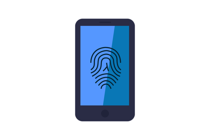 Konzept Fingerabdruck auf Handys – FIDO 2 (Bild: pixabay.com/kreatikar)