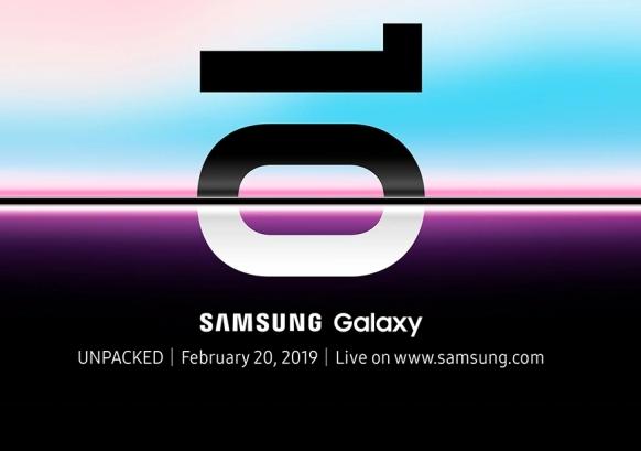 Der Screenshot zeigt die Einladung zum Launch der neuen Samsung Galaxy-10-Modelle. Foto: Screenshot netzwelt.de