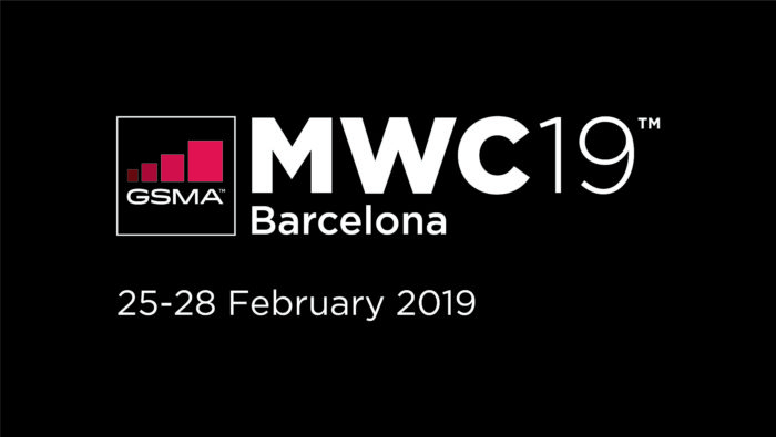 MWC 2019 Logo mit Datum