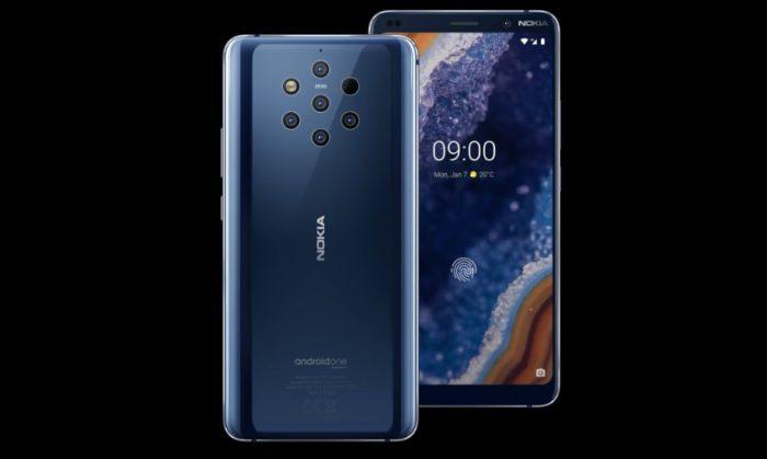 Nokia 9 PureView Geräteansicht