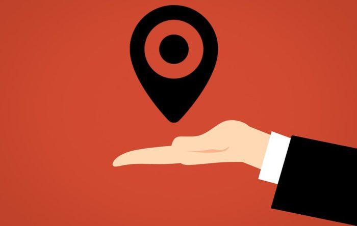 GPS-Symbol und Hand-Icon. Symbolbild für Tracking-Cookies und Werbetracking (Bild: pixabay.com/mohamed_hassan)