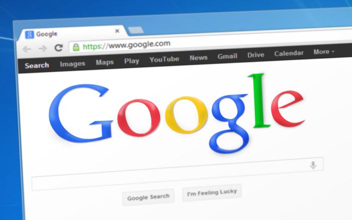 Zu sehen ist das Suchfenster vom Google Chrome. Jetzt ist Chrome 74 verfügbar. Bild: pixabay.de/Simon