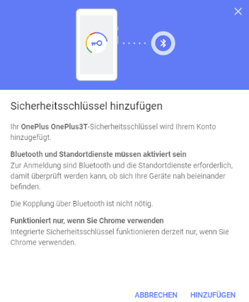 Screenshot einer Google-Hilfeseite zum Schutz der Login-Daten mithilfe der 2FA. Foto: Screenshot