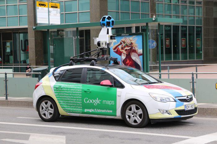 Auto mit Dachkameras: Ähnlich wie die Google-Autos werden die Autos für Apple Look Around aussehen. Foto: Pixabay