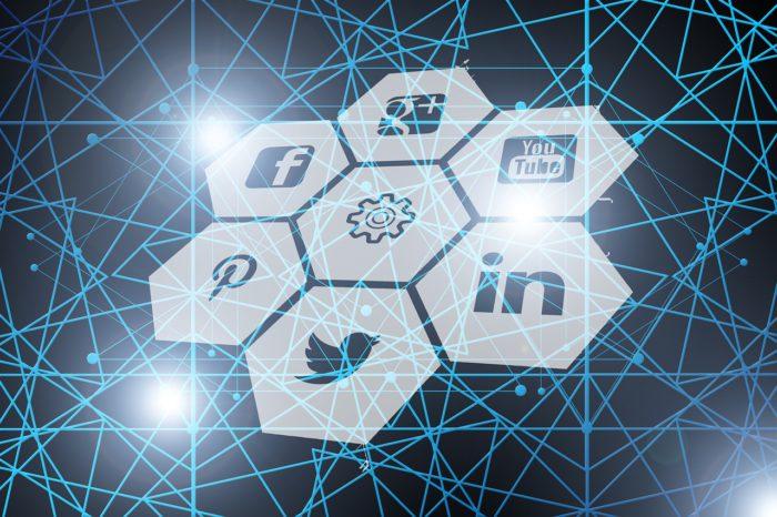 Das Bild zeigt die Logos sechs etablierter Social Media-Unternehmen. Bild: Pixabay