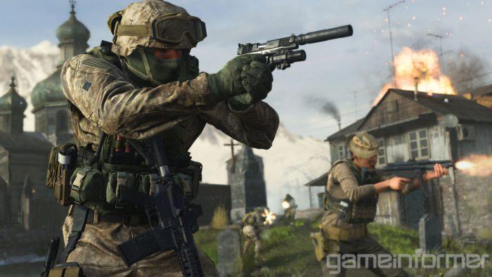 Das Bild zeigt einen Screenshot aus dem Spiel Call of Duty: Modern Warfare, welches man Crossplay spielen kann. Bild: Screenshot, Gameinformer