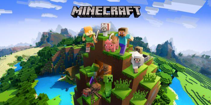 Das Bild zeigt ein Wallpaper des Spieles Minecraft, welches bereits seit 2017 Crossplay für die Player anbietet. Bild: Minecraft