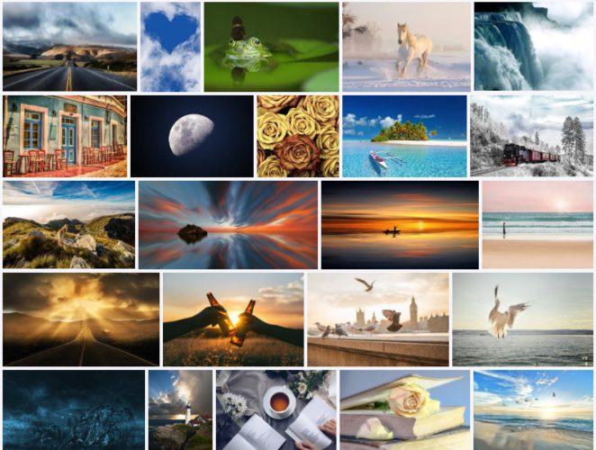 Skype-Hintergrund: Eine große Auswahl an Desktop-Hintergründen findet ihr bei Pixabay. Bild: Screenshot Pixabay