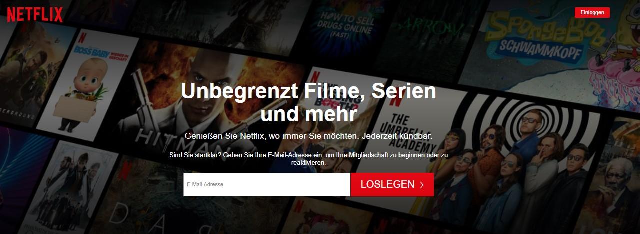 Probemonat Netflix