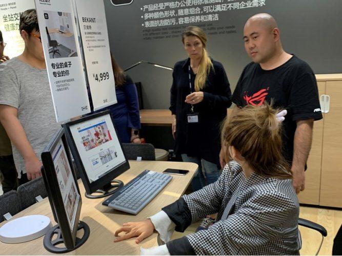 Gamer-Möbel von IKEA in Zusammenarbeit mit ASUS ROG: Workshops ind Shanghai