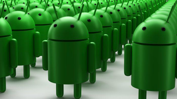 Android R oder Android 11: Eine Armee aus Android-Männchen. Bild: Pixabay