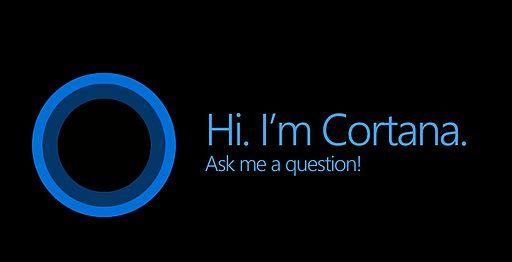 Bildschirmanzeige einer aktiven Cortana. Cortana deinstallieren ist möglich. Bild: Mladjo123 / CC BY-SA (https://creativecommons.org/licenses/by-sa/4.0)