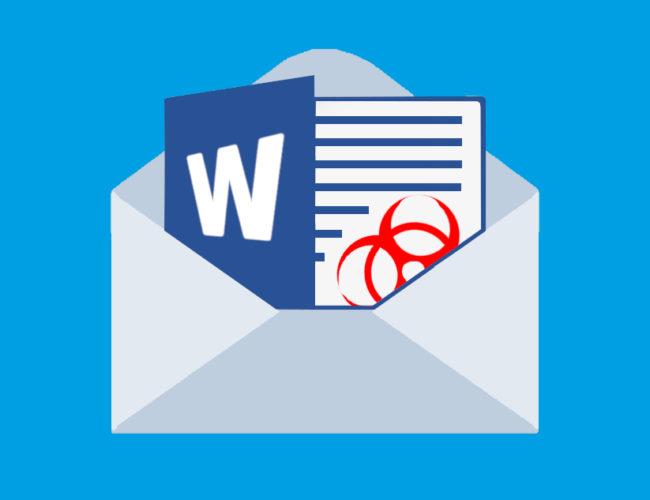Word-Dokuemt in E-Mail schleust Emotet auf PC