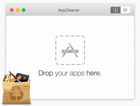 Screenshot des Uninstallers AppCleaner für MacOS. Bild: ©Freemacsoft