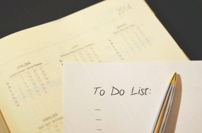 Notiz-App. Kalender und To-Do-Liste. Bild: Pexels