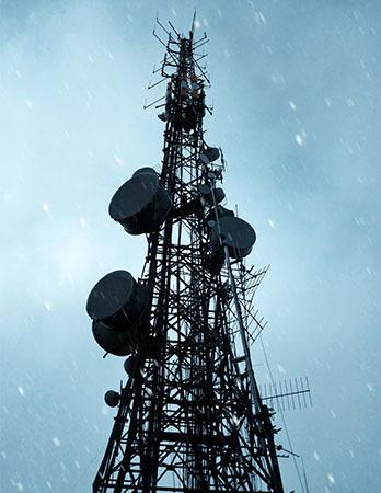 Cell Broadcast: Antennenmast. Bild: Pexels/Sparsh Karki