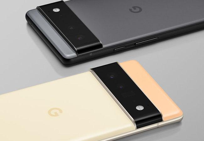 Zwei Handys, das Pixel 6 und Pixel 6 Pro, kommen im Herbst mit System-on-Chip. Bild: ©Google