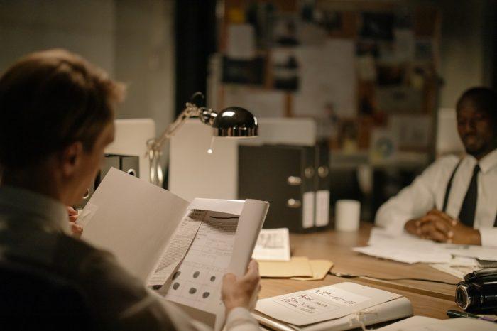 Fingerabdruckerfassung in der Forensik