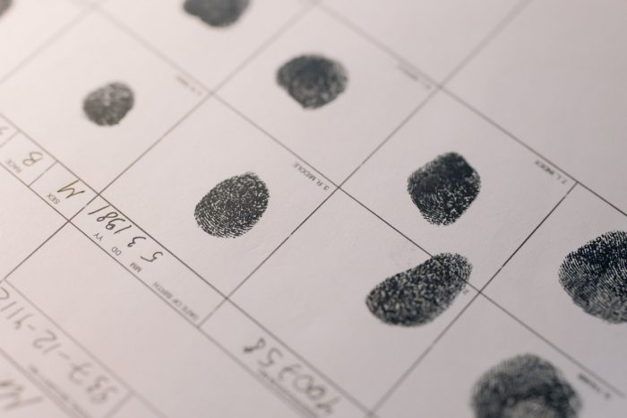 Biometrie: Fingerabdrücke