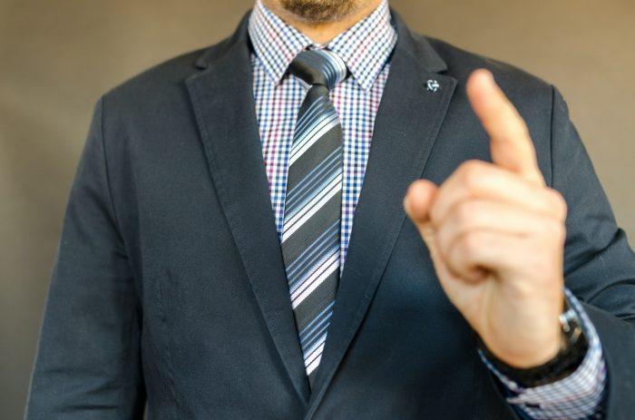 Fingerabdrucksensor in Kleinunternehmen