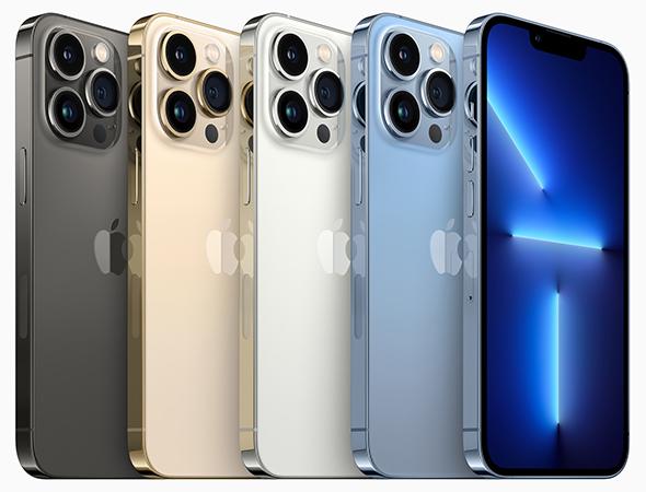 Apple-Event September 2021: Farben des neuen Apple_iPhone-13-Pro_©Apple