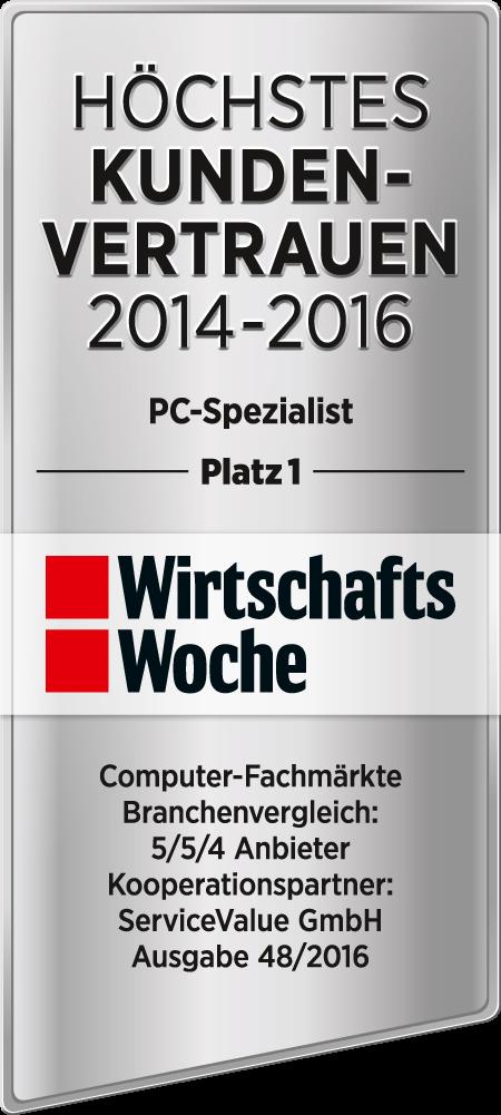 Höchstes Kundenvertrauen: PC-SPEZIALIST